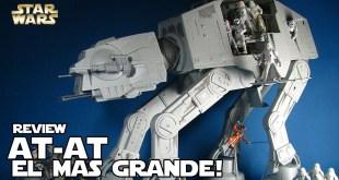 El AT-AT mas grande de Hasbro - Star wars Legacy