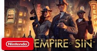 Empire of Sin - Pre-order Trailer - Nintendo Switch