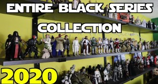 Entire Star Wars Black Series Action Figure Collection & New Shelf Setup - 2020 - Justin