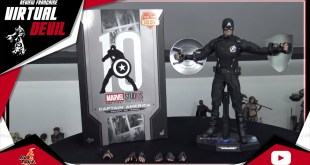 HOT TOYS - CAPTAIN AMERICA - CONCEPT ART VERSION - MMS488 - REVIEW FRANCAISE