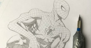 How to Draw Spiderman (Comic book style)