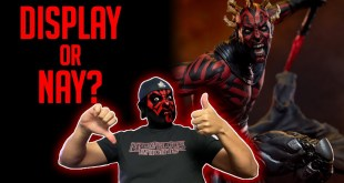 Is the New Sideshow Darth Maul Mythos Statue A Display Or Nay?