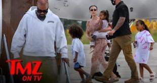 Kim Kardashian & Kanye West On Make Or Break Vacation | TMZ