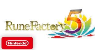 Rune Factory 5 - Gameplay Trailer - Nintendo Switch