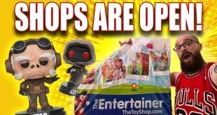 Shops Are Open Again! UK Funko Pop Hunt Post-Lockdown!