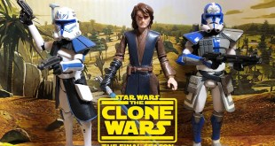 "Star Wars: The Clone Wars Season 7 Arc Trooper Jesse And Anakin Skywalker 3.75"" Figure SHOWCASE"