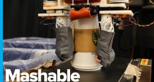 The Robot that Recycles By Touch, Not by Sight