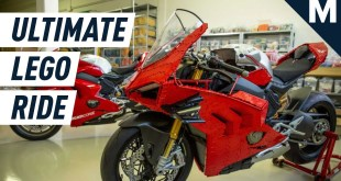 This Ducati Motorcycle Is Made From 15,000 LEGOs (And It Works!) | Mashable