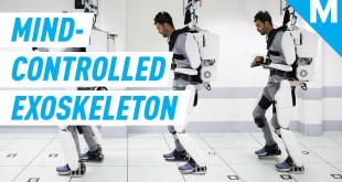 This Exoskeleton Can Help Paralyzed People Move With Just Their Minds | Future Blink