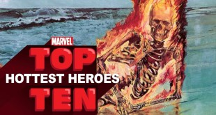 Top 10 Hottest Heroes -- Marvel Top 10s