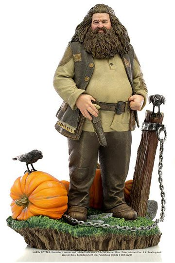 Harry Potter Hagrid Statue Deluxe Art by Iron Studios