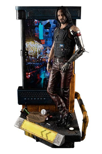 Cyberpunk 2077 Statue 1/4 Johnny Silverhand aka the Legend Keanu Reeves
