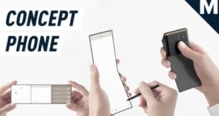 A Credit Card-Sized Phone that Unfolds Into Three Screens | Mashable