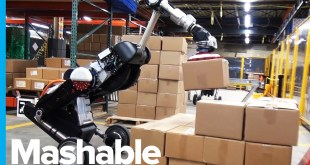 Boston Dynamics Robot is Now a Warehouse Worker