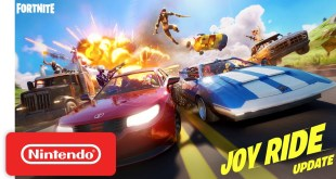Get Behind the Wheel In The Joy Ride Update | Fortnite - Nintendo Switch