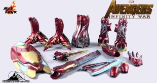 Hot Toys Avengers Infinity War IRON MAN MK L (50) Accessories Set Video Review