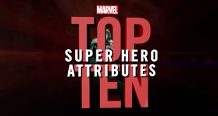 Marvel Top 10 Super Hero Attributes