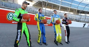 NASCAR Trick Shot Battle | Dude Perfect