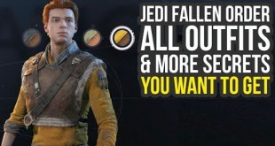 Star Wars Jedi Fallen Order All Outfits & More Secrets! (Star Wars Jedi Fallen Order Outfits