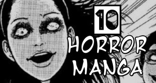 Top 10 HORROR MANGA to read before bed