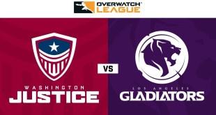 Washington Justice vs Los Angeles Gladiators | Week 21 | NA Day 1