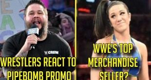 Wrestlers React To Kevin Owens Promo! Bayley Top WWE Merchandise Seller?