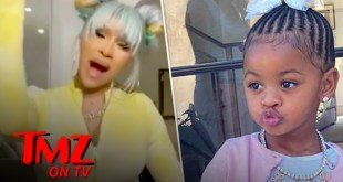 Cardi B Defends Not Letting 2 year Old Kulture Hear 'WAP' | TMZ TV