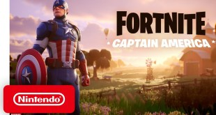 Fortnite Chapter 2 - Season 3 | Captain America Outfit Trailer - Nintendo Switch