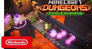 Minecraft Dungeons: Jungle Awakens - DLC Launch Trailer - Nintendo Switch