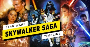 Star Wars: The Skywalker Saga Timeline in Chronological Order