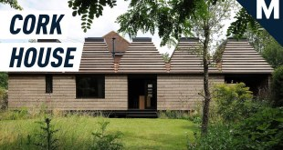 This Cork House Fits Together Like LEGOs | Mashable