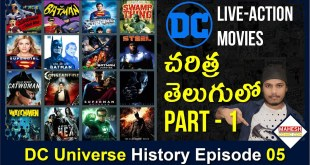 List of Live-action films based on DC Comics (1951 - 2022) Part 1 | [ explained in Telugu ]