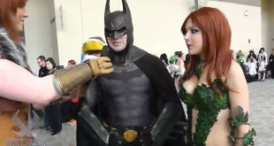 Awesome Batman & Poison Ivy Cosplay at Anime Boston 2012