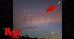 Clear Shots of 'UFO' Spotted Above Freeway on Outskirts of Los Angeles | TMZ TV