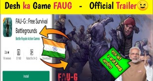 FAUG Game Official Trailer | Faug Mobile Game Official Trailer | Faug Release Date