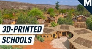 Here's What the World's First 3D Printed School Will Look Like | Mashable