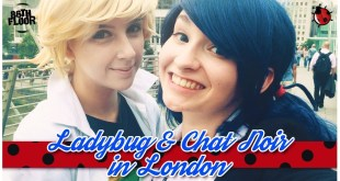Miraculous Ladybug and Chat Noir in London Cosplay Music Video - Reupload