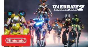 Override 2: Super Mech League - Launch Trailer - Nintendo Switch