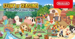 STORY OF SEASONS: Pioneers of Olive Town - Gameplay Features Trailer - Nintendo Switch