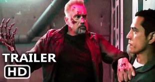 "TERMINATOR 6 ""T-800 VS Rev-9 Fight Scene"" (2019) Arnold Schwarzenegger Action Movie HD"