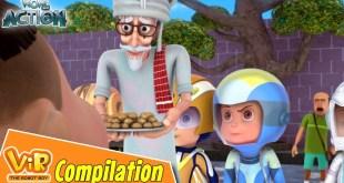 Vir The Robot Boy | Non Stop Action | Cartoon For Kids | Compilation 34