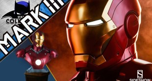 FIRST ON YOUTUBE: Iron Man MARK III Life-Size Bust Review | Sideshow Collectibles & Legacy Effects!