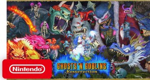 Ghosts 'n Goblins Resurrection – Announcement Trailer – Nintendo Switch