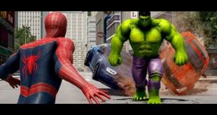 HULK VS SPIDERMAN (2002) Animated Short | Marvel Fight
