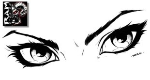 How to Draw Comics - Woman's Eyes - Tutorial - Sketchbook Pro Video