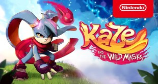 Kaze and the Wild Masks - Launch Trailer - Nintendo Switch