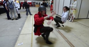 Kazotsky Kick In Real Life - TF2 Cosplay - Kamo Con 2019