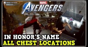 Marvel Avengers Game: In Honor's Name All Chest Locations (Collectibles, Comics, Gear, Artifacts)