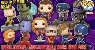 Marvel Movie Moments and Funko pops that need to be made ASAP! + Tons MORE! (Concepts & Ideas)