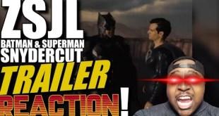 Snyder Cut Justice League Batman & Superman Trailer Reaction | DCEU Fatal Jay Zack Snyder HBOMax